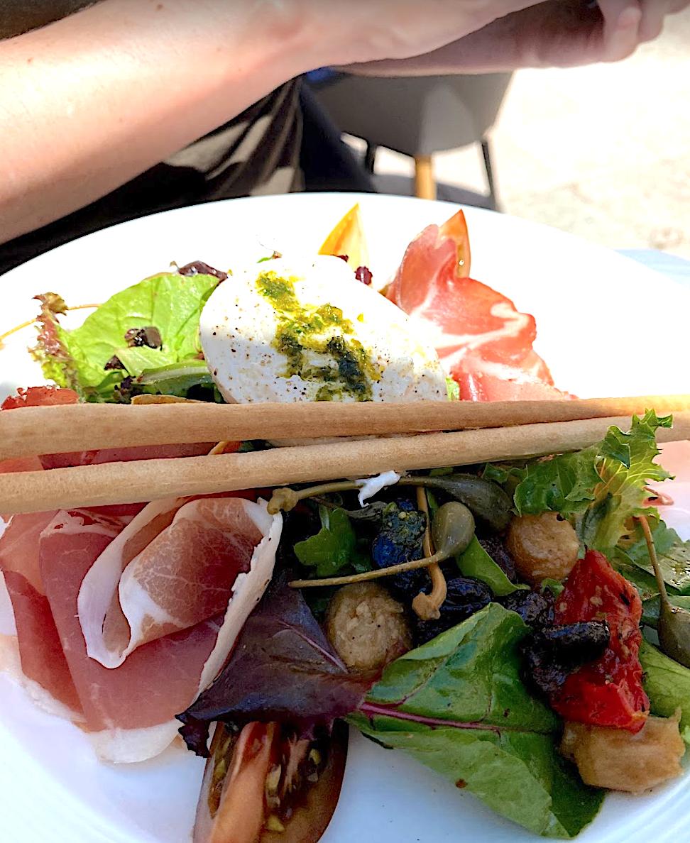 Salade Italienne cafe de lormeau