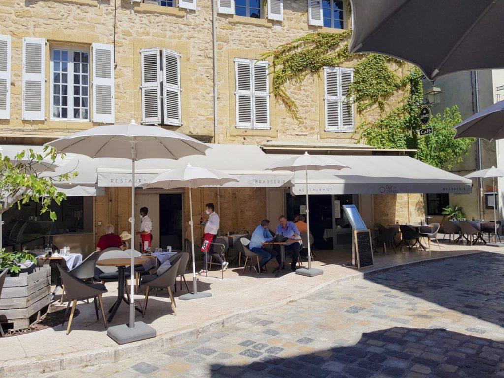 cafe de l'Ormeau la terrasse